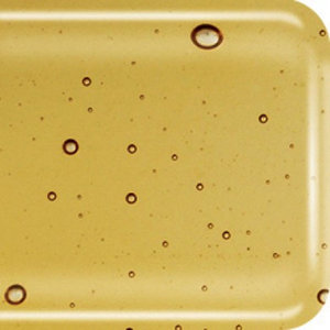 COE 90 Amber transparant - doorzichtig glas 20 x 18 cm (3 mm dik)