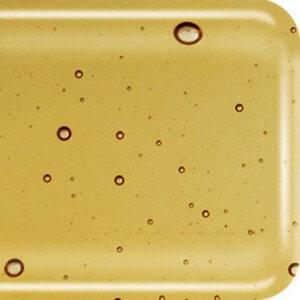 COE 90 Amber transparant - glas voor fusen 10 x 9 cm (3 mm dik)