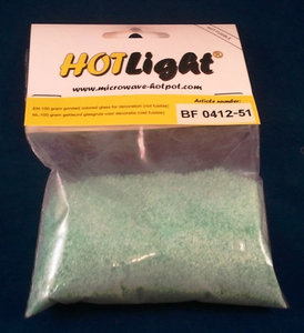 glas COE 85 hotlight Frits transparant aqua 100g