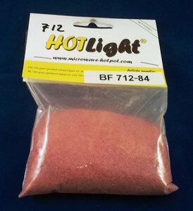 glas COE 85 hotlight Frits opaal donkerrood 100g