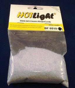 glas COE 85 hotlight Frits transparant licht violet 100g