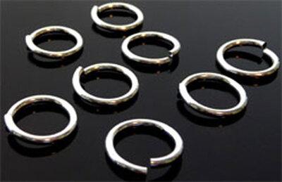 Aluminium ringetje rond 15mm (± 1,8mm dik) (10 stuks)