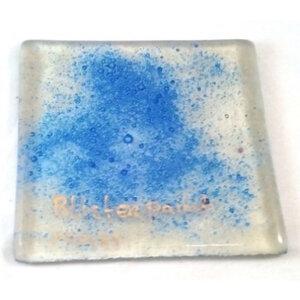 middelblauw pigment met belvorming (bellenpoeder) (10gr)