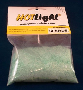 glas COE 85 hotlight Frits opaal licht turquoise 100g