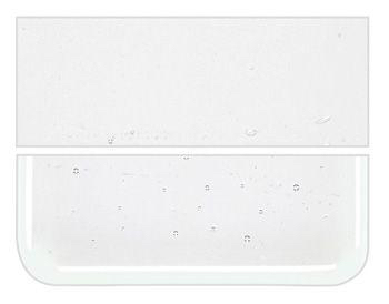 Bullseye transparant reactive ice plaatglas (12,5x14,5)