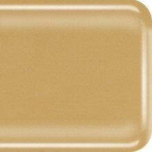 COE 90 amber opaal - ondoorzichtig glas 10 x 9 cm (3 mm dik)