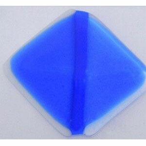 COE 90 bright blue transparant - doorzichtig glas 20 x 18 cm (3 mm dik)