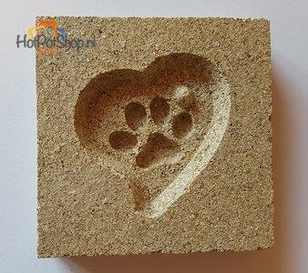 vermiculite mal pootje in hart