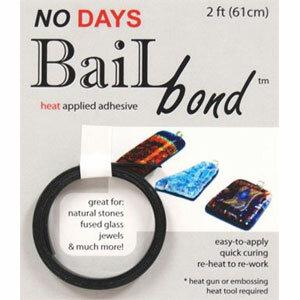 No days bailbond, bail lijm zwart (61cm)